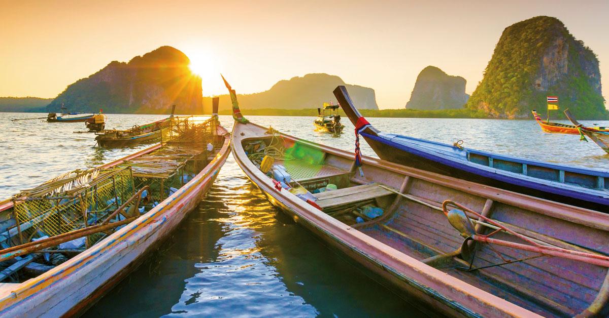 Last minute Thajsko
